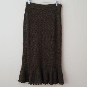 Ralph Lauren Sweater Skirt midi wool/cashmere